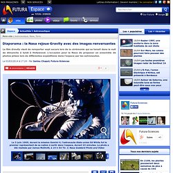 Diaporama : la Nasa rejoue Gravity avec des images renversantes