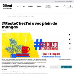 Glénat : #ResteChezToi avec plein de mangas...