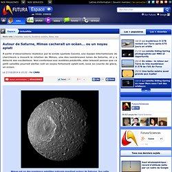 Autour de Saturne, Mimas cacherait un océan... ou un noyau aplati