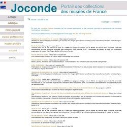 RUB. SITE Culture : Joconde Coll. des musées de France