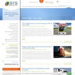 Actualité et veille sociale pour la gestion de la paie - STS