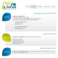 Paie et Social : Fil d'actualité et mises à jour sur les solutions de gestion de vos paies en gironde