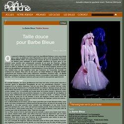 Critique : Taille douce pour Barbe Bleue. (Actualité critique du spectacle vivant / Toulouse Métropole)