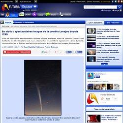 En vidéo : spectaculaires images de la comète Lovejoy depuis l'ISS