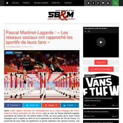 L'actualité du sport business par SportBusinessetMoi