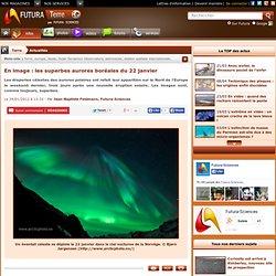 En image : les superbes aurores boréales du 22 janvier