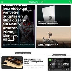 Presse-citron - Geek, high-tech, social media, web mobile