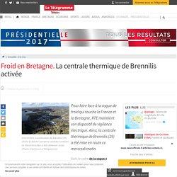 Actualité - A la Une - Froid en Bretagne. La centrale thermique de Brennilis activée