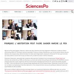 Pourquoi l'abstention peut faire gagner Marine Le Pen ?