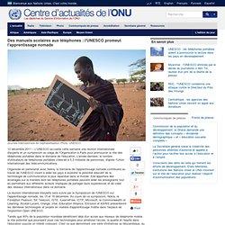 l'UNESCO promeut l'apprentissage nomade