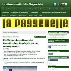 Actualités Archives - La p@sserelle -Histoire Géographie-