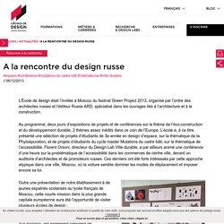 A la rencontre du design russe