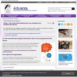 Actualités - Guide - Une école bienveillante face aux situations de mal-être des élèves