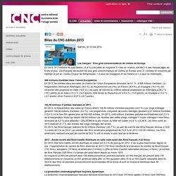 Bilan du CNC édition 2013