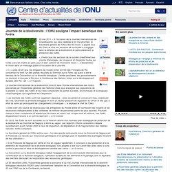 Ban Ki-moon plaide pour la protection de la biodiversité