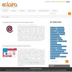 Consulter les dernières actualités publiées sur Eclaira.org, le Réseau de l'économie circulaire en Auvergne-Rhône-Alpes