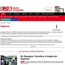 Année 2016 - Sephora : Actualités de la chaîne de vente de produits cosmétiques