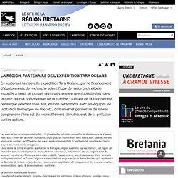 REGION BRETAGNE - La Région, partenaire de l'expédition TARA OCÉANS