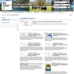 Actualités Covid-19 / Actualités - Dans le département des Bouches-du-Rhône