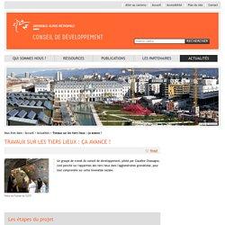 Travaux sur les tiers lieux : ça avance ! - Actualités - Conseil de développement de Grenoble-Alpes Métropole