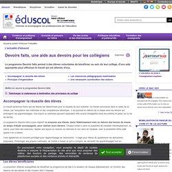 Eduscol - Principes d'organisation, Ressources pédagogiques
