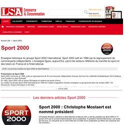 Sport 2000 : Actualités du distributeur d'articles de sport - LSA Conso