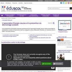 Actualités - Energies Jeunes