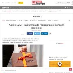 Action LVMH : actualités de l'entreprise et conseils boursiers
