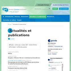 Actualités et publications
