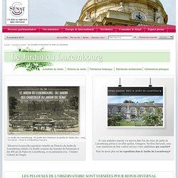 Les actualités et expositions du Jardin du Luxembourg- Sénat