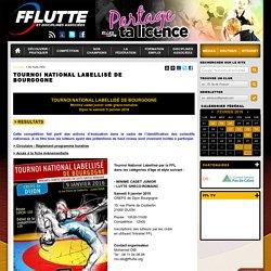 FFL : ACTUALITÉS » Tournoi national labellisé de Bourgogne