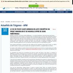Actualités de l'Urgence - APM / Société Française de Médecine d'Urgence - SFMU