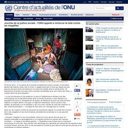 Journée de la justice sociale : l'ONU appelle à renforcer la lutte contre les inégalités