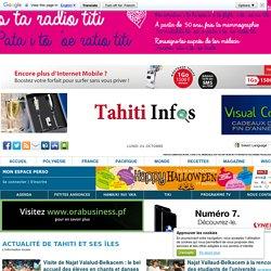 Actualités locales de Tahiti est ses îles