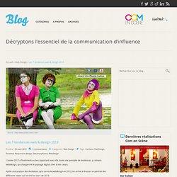 Tendances web et design 2013, actualités web 2013, innovations web