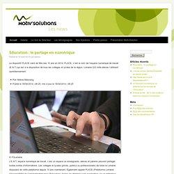 Solutions interactives pour l'éducation et l'entreprise