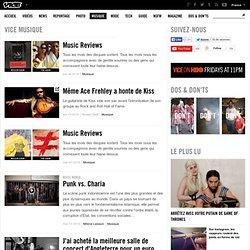Dernières actualités musicales et interviews