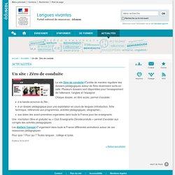 Actualités-Langues vivantes-Éduscol