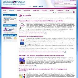Actualités du monde associatif : législation, fiscalité, évènements...