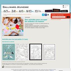 Activités Gallimard autour de Harry Potter, Lucrèce, recettes...