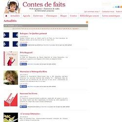 """Contes de faits : Actualités du magazine jeunesse """"Contes de faits""""..."""