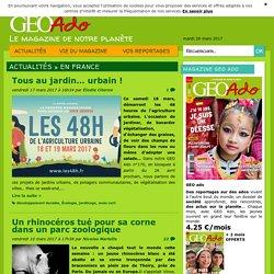 GEO Ado - Le magazine de notre planète
