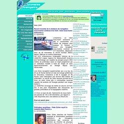 Actualités mars 2005