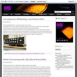 Studio de Mastering : Mathieu Berthet