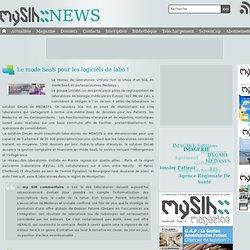 Le mode SaaS pour les logiciels de labo ! - Actualités MySIH.fr