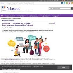 """Actualités du numérique - Concours """"Trophées des classes"""""""