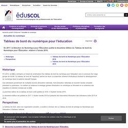 Actualités du numérique - Tableau de bord du numérique pour l'éducation