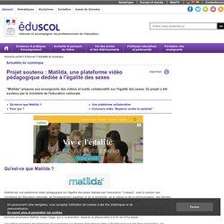 Actualités du numérique - Matilda