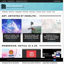 Le Blog John's Graphisme, le blog d'un webdesigner - graphiste Freelance.