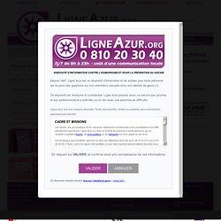 Ligne Azur - Actualités - Professionnel-le-s: ne soyez pas spectateur/trices